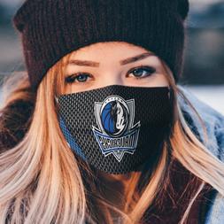 100% Cotton Dallas Mavericks Reusable Cloth Breathable Face