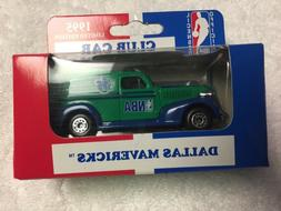 MATCHBOX 1995 DALLAS MAVERICKS 1939 CHEVY CLUB DIECAST COLLE