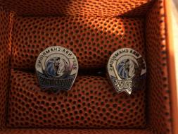 2010-11 NBA Champion Dallas Mavericks Cufflinks NBA Basketba