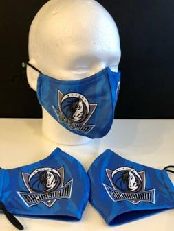 3 layers washable face mask dallas mavericks