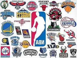 3 Pack Officially Licensed NBA Logo Stickers - Pick Your Fav