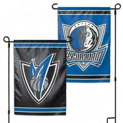 "Dallas Mavericks 2 Sided 12.5"" x 18"" Garden Flag  NBA Banner"