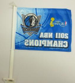 DALLAS MAVERICKS 2011 NBA CHAMPIONS CHAMPS CAR FLAG FLAGS NB