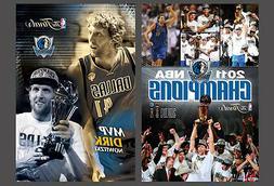 Dallas Mavericks 2011 NBA CHAMPS CELEBRATION and NOWITZKI MV