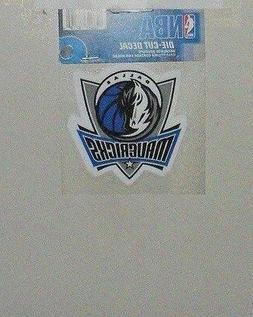 DALLAS MAVERICKS 4 X 4 DIE-CUT DECAL OFFICIALLY LICENSED PRO