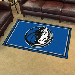 Dallas Mavericks 4' X 6' Decorative Ultra Plush Carpet Area