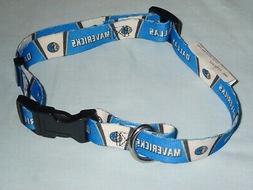 dallas mavericks adjustable dog pet collar size
