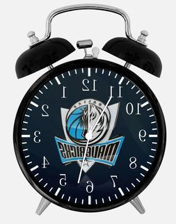 dallas mavericks alarm desk clock 3 75