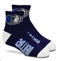 Dallas Mavericks Basketball Youth Quarter Team Logo Socks