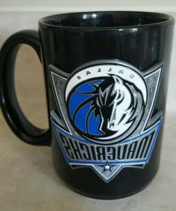 dallas mavericks coffee cup sculpted 3d logo