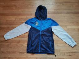 Dallas Mavericks Colorblock Windbreaker Jacket Men Small Poc
