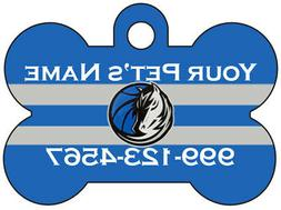 Dallas Mavericks Custom Pet Id Dog Tag | Personalized for Yo