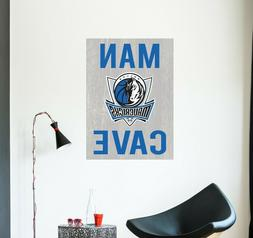 Dallas Mavericks Decal NBA Logo Vinyl Sport Basketball Man C