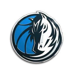 Dallas Mavericks Die-Cut Metal Auto Emblem  NBA Car Decal St