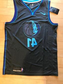 Dallas Mavericks Dirk Nowitzki Jersey City Swingman Edition