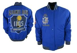 Dallas Mavericks Embroidered Jacket 2011 NBA Finals Men's XL