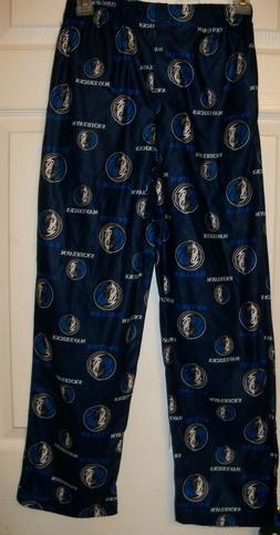 Dallas Mavericks Flannel PJ Pajama Sleep Lounge Pants Boys S