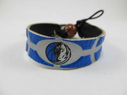 Dallas Mavericks LOGO Leather Bracelet GameWear Official NBA
