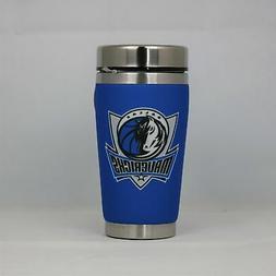 dallas mavericks nba 16oz travel tumbler coffee