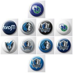 DALLAS MAVERICKS - NBA basketball pinback buttons - sports t