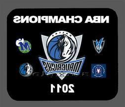 Dallas Mavericks NBA Championship Banner Mouse Pad Item#704