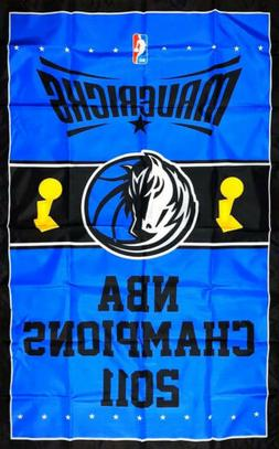 Dallas Mavericks NBA Championship Flag 3x5 ft Vertical Sport