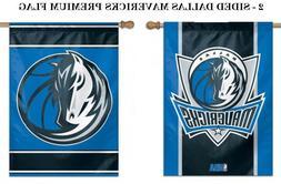 Dallas Mavericks NBA House Flag - 2 Sided Vertical Banner Fl