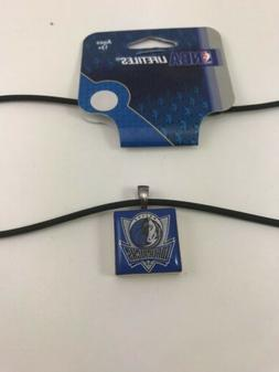 DALLAS Mavericks NBA LOGO TILE CHARM PENDANT NECKLACE LifeTi
