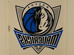 Dallas Mavericks NBA Reusable Static Cling Jumbo Decal