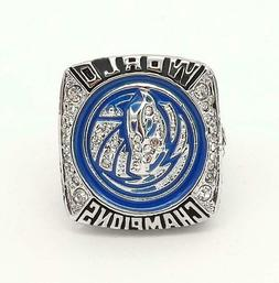 Dallas Mavericks NBA World 2011 Championship Men's Solid Ste