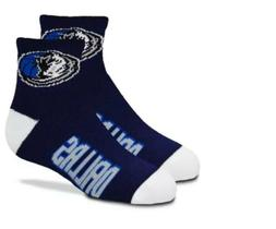 Dallas Mavericks NBA Youth Navy Socks For Bare Feet