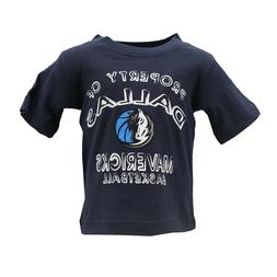 Dallas Mavericks Official NBA Apparel Baby Infant Size T-Shi