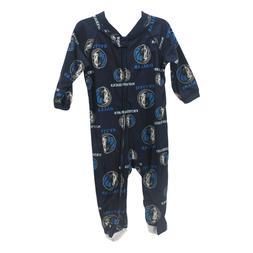 Dallas Mavericks Official NBA Apparel Baby Infant Size Pajam