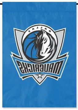 Dallas Mavericks Premium Garden Flag Applique Embroidered Ba