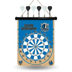 Dallas Mavericks Team Dart Board.Magnetic. 6 Darts. Board