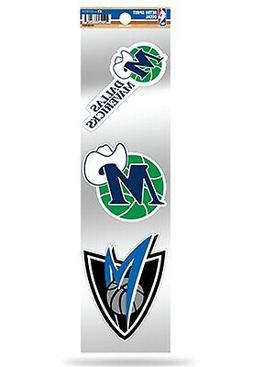 Dallas Mavericks Triple Retro Throwback Spirit Decals Sticke