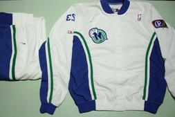 Dallas Mavericks Vtg 90s Nike Team Game Issue 1997-98 Warm U