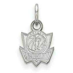 dallas mavericks women s sterling silver xs