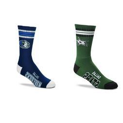 Dallas Stars NHL, Dallas Mavericks NBA FBF 4 Stripe Deuce Cr