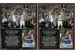 Dirk Nowitzki #41 Dallas Mavericks Photo Card Plaque