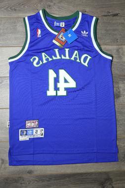 Dirk Nowitzki Dallas Mavericks Jersey Throwback Vintage Clas