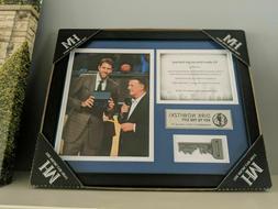 Dirk Nowitzki Key To The City Commemorative Photo DALLAS MAV
