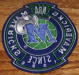High Quality Dallas Mavericks Crest Sleeve or Polo Sized Emb