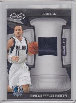 JOSE BAREA 2009-10 CERTIFIED FABRIC OF THE GAME JERSEY #/250