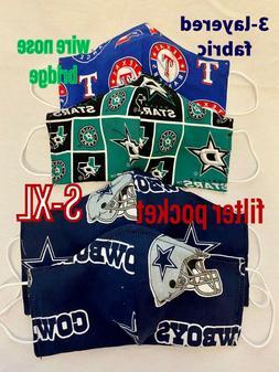 Kids & Adults Dallas Cowboys, Mavericks, Stars, Texas Ranger
