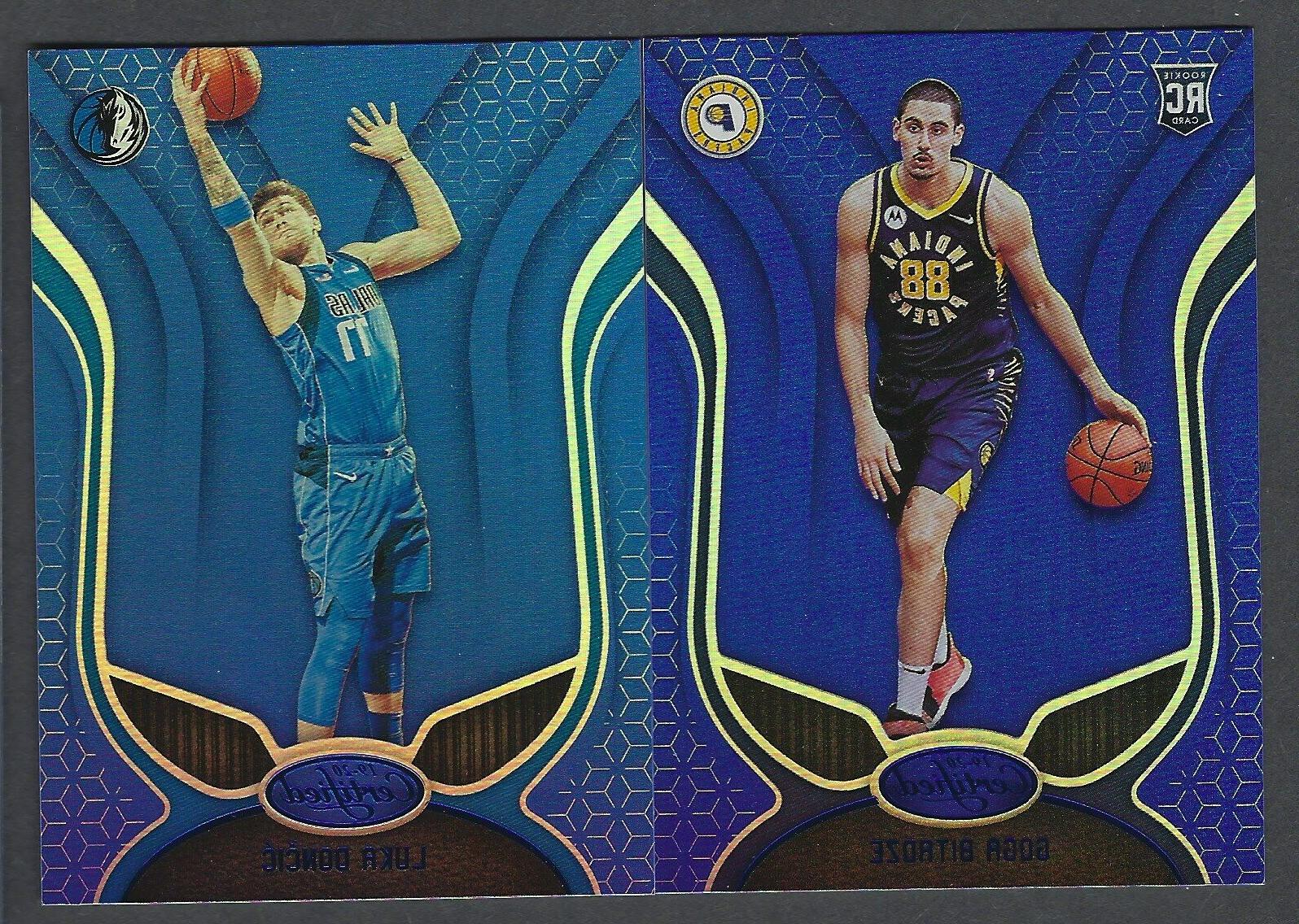 2019 20 panini certified blue mirror parallels