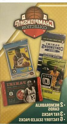 2019 CHAMPIONSHIP COLLECTION Basketball Box: 9-Packs with 2