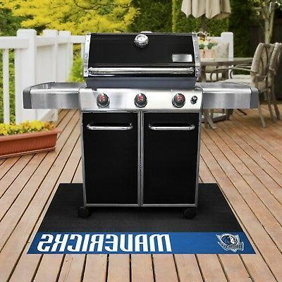 dallas mavericks 26 x 42 vinyl grill