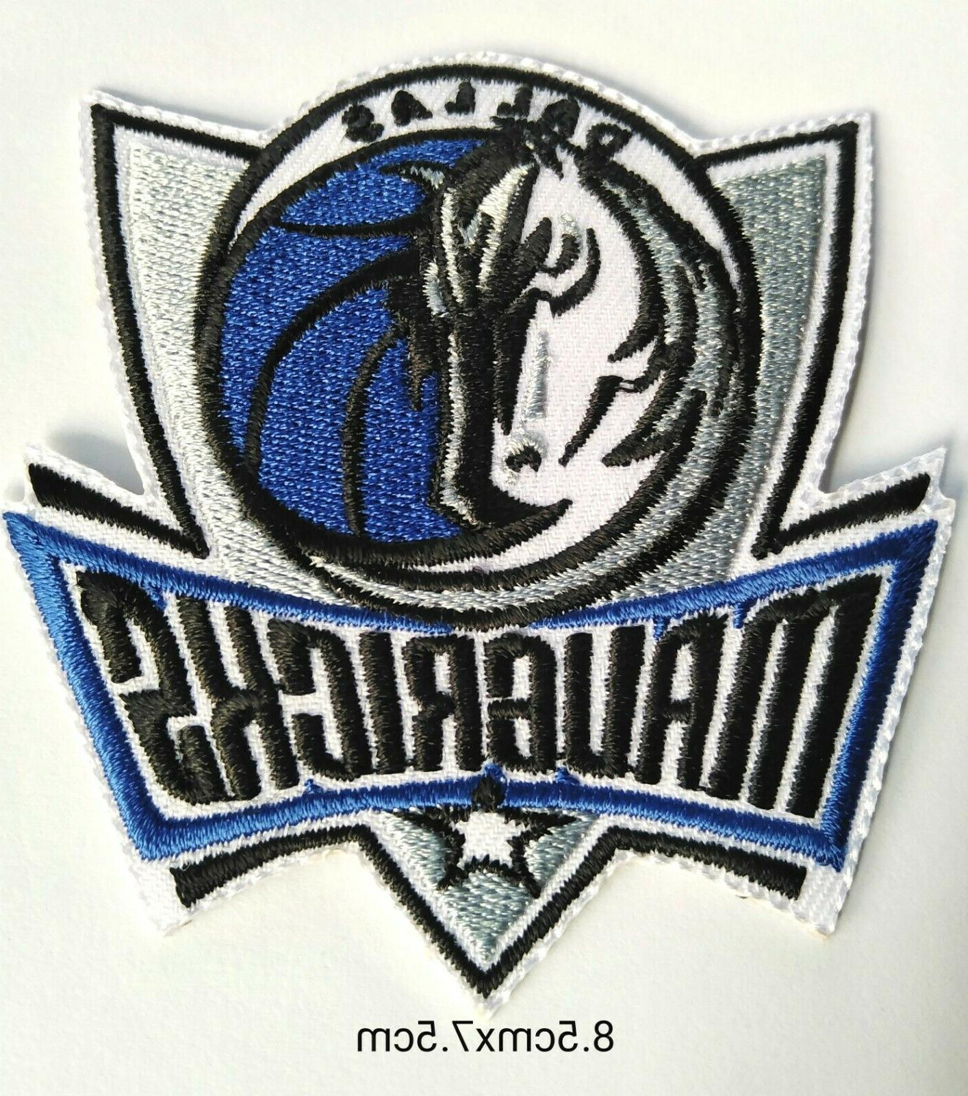 dallas mavericks basketball logo embroidered patch iron