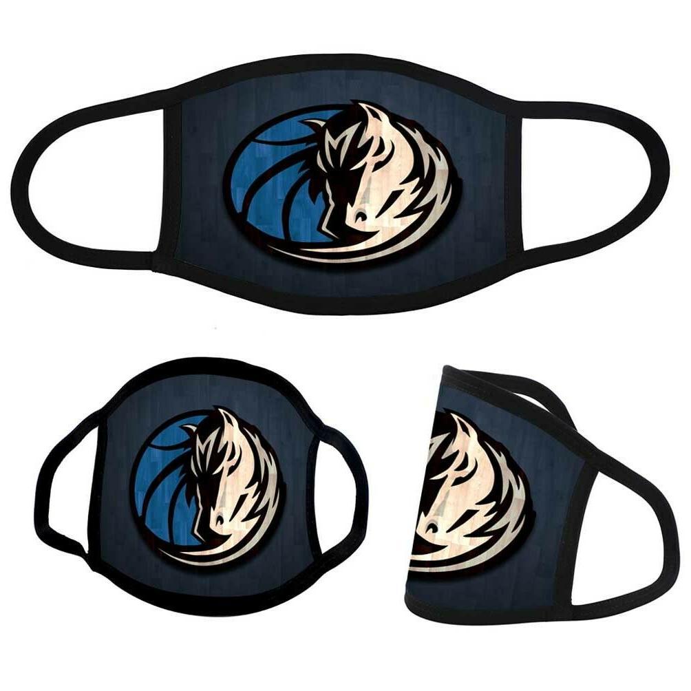 dallas mavericks custom fabric face mask